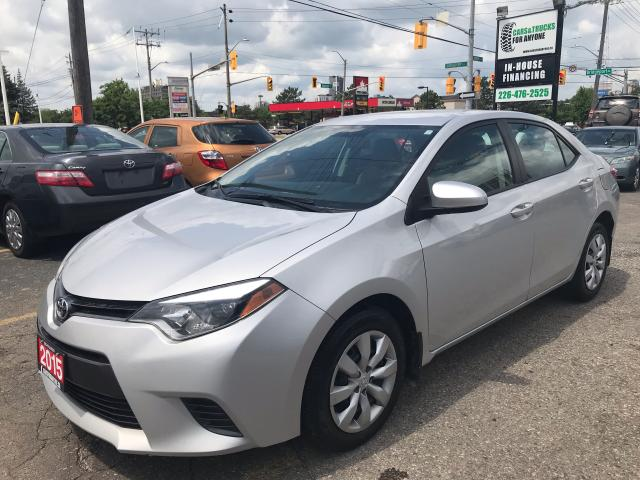 2015 Toyota Corolla LE l No Accidents l Back up Cam