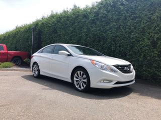 Used 2013 Hyundai Sonata SE 4dr FWD Sedan + LEATHER HEATED FT & RR SEATS + SUNROOF + NO EXTRA DEALER FEES for sale in Surrey, BC