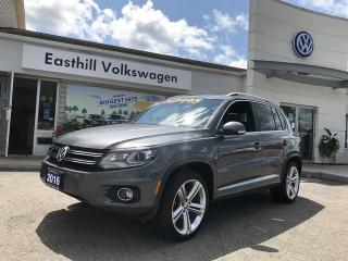 Used 2016 Volkswagen Tiguan Highline 2.0T 6sp at w/ Tip 4M for sale in Walkerton, ON