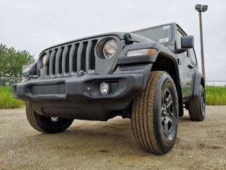 New 2019 Jeep Wrangler Sport 2-Door for sale in Edmonton, AB
