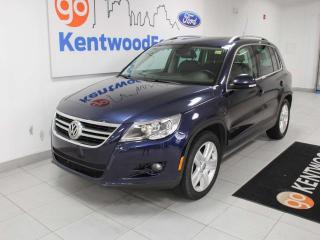 Used 2011 Volkswagen Tiguan 2.0T 4motion AWD with sunroof and heated power leather seats for sale in Edmonton, AB
