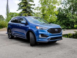 New 2019 Ford Edge ST 401A, AWD, 2.7L V6, Power Heated Leather Seats, Auto Start/Stop, Lane Keeping System, Pre-Collision Assist, Remote Vehicle Start, Reverse Camera and Sensing System, Trailer Tow Pkg for sale in Edmonton, AB