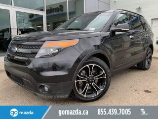 Used 2014 Ford Explorer SPORT LEATHER PANOROOF NAV COOLED SEATS for sale in Edmonton, AB