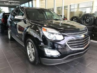 Used 2016 Chevrolet Equinox LTZ, ACCIDENT FREE, POWER HEATED LEATHER SEATS, SUNROOF, NAVI for sale in Edmonton, AB