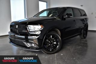 Used 2018 Dodge Durango GT | AWD+TOIT+7 PASS+DVD+CUIR+NAV+20'' for sale in St-Jean-Sur-Richelieu, QC
