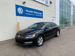 Used 2013 Volkswagen Passat 2.0L TDI COMFORTLINE - LEATHER / HEATED SEATS for sale in Edmonton, AB