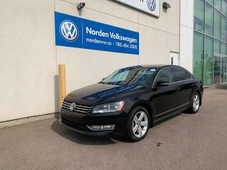 Used 2014 Volkswagen Passat 2.0L TDI COMFORTLINE - LEATHER / HEATED SEATS for sale in Edmonton, AB