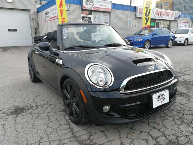 2012 MINI Cooper Convertible Accident Free | One Owner | Low Mileage | Warranty