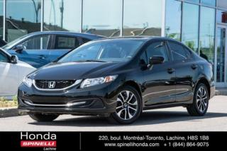 Used 2015 Honda Civic EX for sale in Lachine, QC