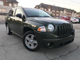 Used 2007 Jeep Compass Sport|Alloys Wheels|Low Mileage|Ssfety & Certifie for sale in Burlington, ON