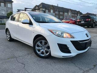 Used 2010 Mazda MAZDA3 HB Sport GX Accidnet Free One Owner Low Mileage for sale in Burlington, ON