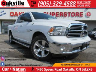 Used 2017 RAM 1500 SLT CREW CAB | NAV | SENSORS | B/U CAM | 20 WHEELS for sale in Oakville, ON