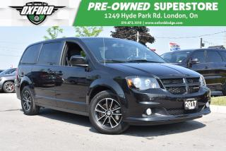 Used 2017 Dodge Grand Caravan GT - Well Equipped, Low Mileage, Roof Rack for sale in London, ON