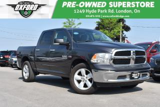 Used 2017 RAM 1500 SLT - One Owner, UConnect, Backup, Heated Seats for sale in London, ON