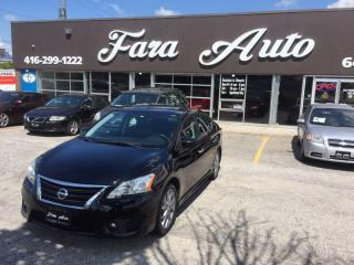 Used 2013 Nissan Sentra SR , NAVIGATION , BACKUP CAMERA , SUNROOF for sale in Scarborough, ON