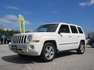 Used 2010 Jeep Patriot 4WD 4dr Limited for sale in Newmarket, ON