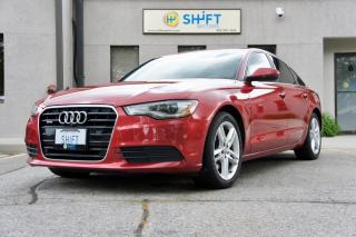 Used 2013 Audi A6 QUATTRO PREMIUM, NAVIGATION, REAR VIEW CAMERA for sale in Burlington, ON