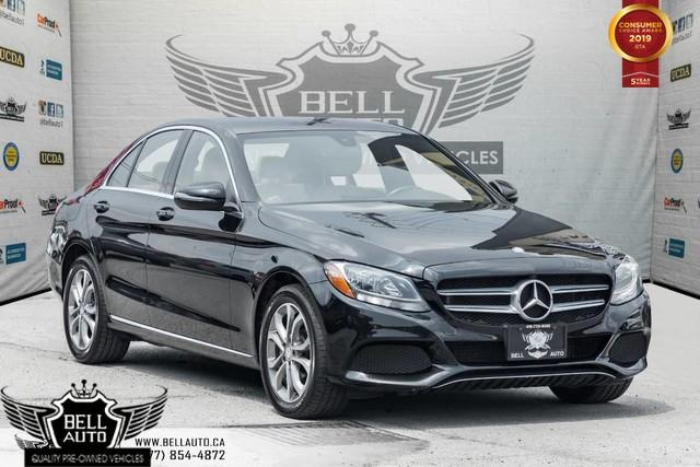 2016 Mercedes-Benz C-Class C 300, BLINDSPOT, ATTENTION & GRAPHIC ASSIST, BLUETOOTH