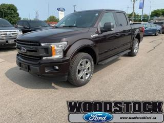 New 2019 Ford F-150 XLT  - Navigation - Sunroof for sale in Woodstock, ON