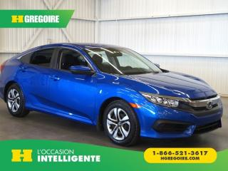 Used 2016 Honda Civic LX A/C-CAMÉRA-GR for sale in St-Léonard, QC