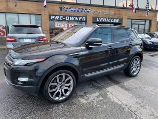 Used 2013 Land Rover Evoque 2013 Land Rover Range Rover Evoque - 5dr HB Premiu for sale in North York, ON