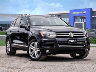 Used 2013 Volkswagen Touareg HIGHLINE for sale in Markham, ON