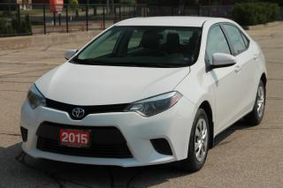 Used 2015 Toyota Corolla CERTIFIED for sale in Waterloo, ON