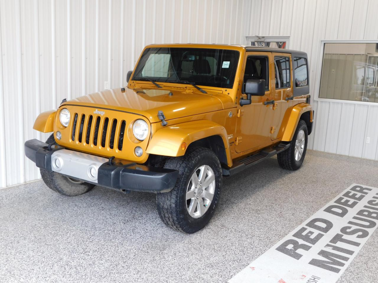 Used 2014 Jeep Wrangler Unlimited Sahara For Sale In Red