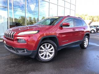 Used 2014 Jeep Cherokee LIMITED 4X4 66$/Sem for sale in Ste-Agathe-des-Monts, QC