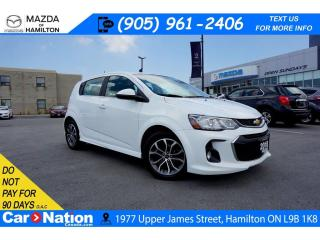 Used 2018 Chevrolet Sonic LT Auto LT RS | SUNROOF | REAR CAM | TOUCHSCREEN for sale in Hamilton, ON
