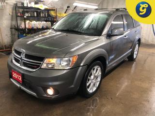 Used 2012 Dodge Journey R/T * AWD * 5 Passenger * Leather * Push button ignition * Remote start * Roof Rack * Keyless/Passive entry * Phone connect * Voice recognition * Roof for sale in Cambridge, ON