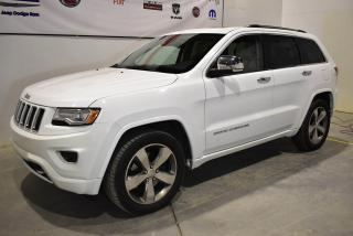 Used 2014 Jeep Grand Cherokee Overland 2 for sale in Sherbrooke, QC
