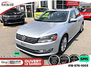 Used 2012 Volkswagen Passat 2.5L*HIGHLINE *A/C *MAGS *BLUETOOTH *TOIT for sale in Québec, QC
