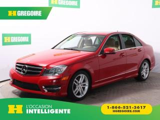 Used 2014 Mercedes-Benz C 300 4 MATIC AC GR ELEC for sale in St-Léonard, QC