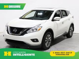 Used 2016 Nissan Murano Sl Awd Cuir for sale in St-Léonard, QC