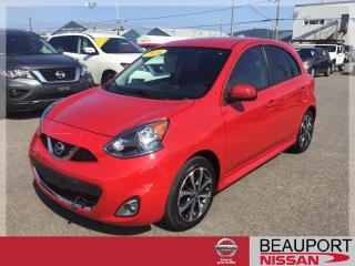 Used 2016 Nissan Micra 1.6 SR AUTOMATIQUE ***25 000 KM*** for sale in Beauport, QC