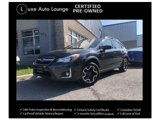 Used 2016 Subaru Crosstrek 2.0i w/Touring Pkg BACK-UP CAMERA, HEATED SEATS!! for sale in Orleans, ON