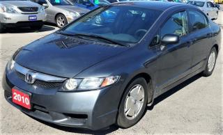 Used 2010 Honda Civic DX-G for sale in Hamilton, ON