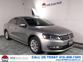 Used 2013 Volkswagen Passat TDI Navigation Sunroof Fender Leather Certified for sale in Toronto, ON