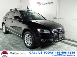 Used 2015 Audi Q5 2.0T Progressiv Quattro Panoroof Leather Certified for sale in Toronto, ON