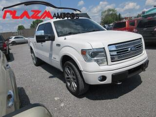 Used 2014 Ford F-150 Limited  for sale in Beauport, QC