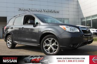 Used 2015 Subaru Forester One owner accident free trade with only 24218 kms. Loaded! for sale in Toronto, ON
