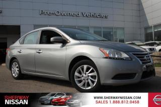 Used 2013 Nissan Sentra One owner accident free trade.Nissan certified preowned! for sale in Toronto, ON