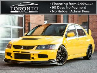 Used 2005 Mitsubishi Lancer Evolution Lancer Evolution 8 SSL pkg Leather Sunroof Xenon for sale in North York, ON