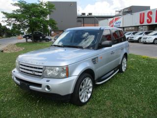 Used 2006 Land Rover Range Rover Sport SC~DVD~NAV.~SUPERCHARGED~CERTIFIED!!! for sale in Toronto, ON