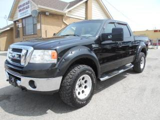 Used 2008 Ford F-150 XLT 4X4 Crew Cab XTR 5.4L Sunroof 169,000KMs for sale in Rexdale, ON