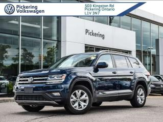Used 2018 Volkswagen Atlas Comfortline for sale in Pickering, ON
