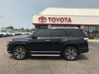 Used 2018 Toyota 4Runner Limited 7 passenger leather roof Nav for sale in Cambridge, ON