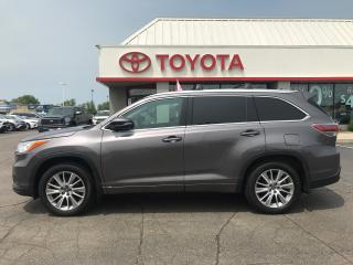 Used 2016 Toyota Highlander XLE AWD LEATHER NAVI for sale in Cambridge, ON