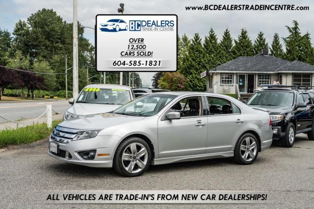 2010 Ford Fusion SEL SPORT, AWD, Very Rare, Sunroof, Loaded!